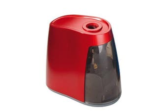 Dahle 00240-02032 8mm Battery Operated Pencil Sharpener - Red