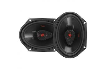 Cerwin-Vega Mobile H7683 HED Series 3-Way Coaxial Speakers (15cm x 20cm , 360 Watts Max)