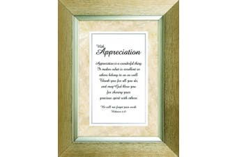 (With Appreciation) - Heartfelt Collection Meaningful Moments Frame, With Appreciation