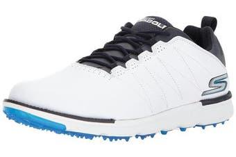 (7.5 UK, White/Navy) - Skechers Performance Men's Go Golf Elite 3 Shoe
