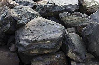(20x72) - Aquarium Background - Intense Rock - Detailed - 3D Look - Various Sizes