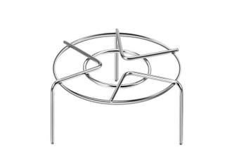 (Heavy Duty Rack Higher) - Pressure Cooker Trivet Steam Pot Pan Cooking Rack Stand Food Vegetable Crab Tall Wire Heavy Duty Stainless Steel Steaming Rack Cookware 3-1/8'' Height