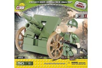 COBI COB02153 Small Army - Howitzer 100mm 1914 (50 Pcs) Toy, Various