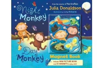 Night Monkey, Day Monkey Magnet Book