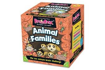 Brainbox GRE91020 Animal Families, Card Game