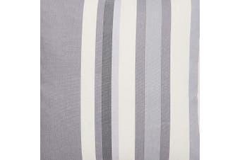 (Grey, Tiebacks (Pair)) - Hampton Stripe Tiebacks (Pair) - Finished in Grey