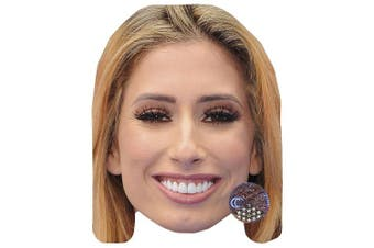 Stacey Solomon Celebrity Mask, Card Face and Fancy Dress Mask