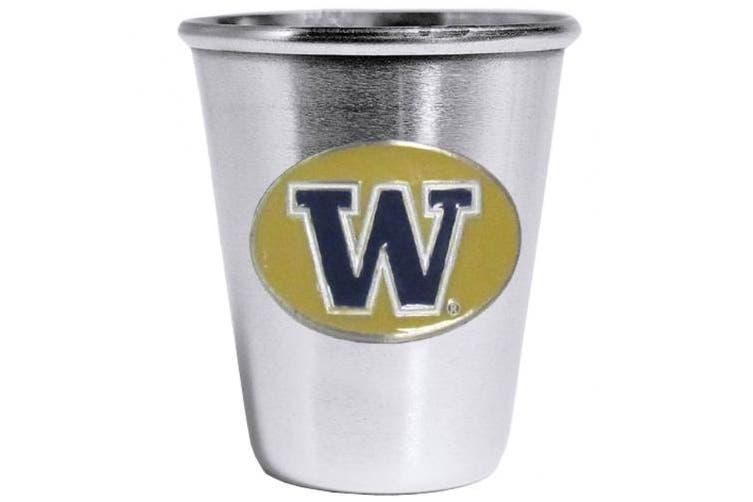 (Washington Huskies) - NCAA Steel Shot Glass