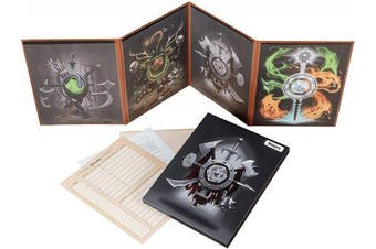 Hexers Game Master Screen - Dungeons and Dragons D & D DnD DM Pathfinder RPG role playing compatible - 4 Customizable Panels - Inserts included that slide into the pouches - Dry erase tracker sheet