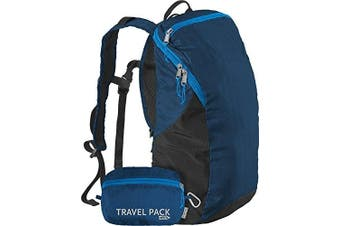 (Poseidon) - ChicoBag Travel Pack rePETe Compact Recycled Backpack