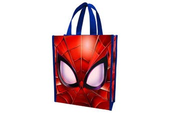 Vandor 26873 Marvel Spider-Man Reusable Shopping, Small Tote Bag with Handles