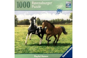 Ravensburger Playful Horses 1000 Piece Puzzle