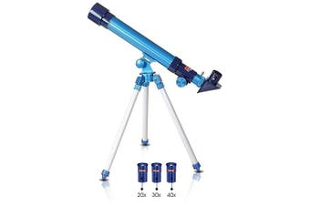 Telescope for Kids by ArtCreativity | Set Includes 3 Magnification Lenses, Diagonal Mirror, & Tripod Stand | Easy To Focus | Great Children's Educational Science Toy for Boys and Girls