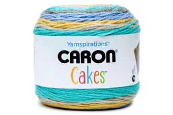 Caron Self Striping Aran Yarn, Acrylic, Banana Bread, 15 x 15 x 15 cm