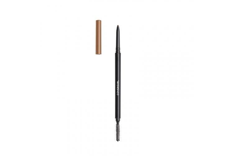 (Pack of 1, HONEY BROWN) - COVERGIRL Easy Breezy Brow Micro-Fine + Define Pencil, Honey Brown, 0kg (packaging may vary)