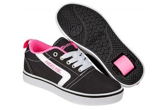 (3 UK, Black (Black/White/Pink)) - Heelys Unisex Adults' GR8 Pro Fitness Shoes