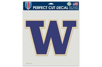Washington Huskies Full Colour Die Cut Decal - 20cm X 20cm