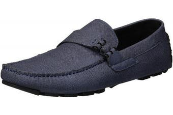 (7.5 UK, Navy) - Unlisted by Kenneth Cole Men's Hope Driver C Driving Style Loafer
