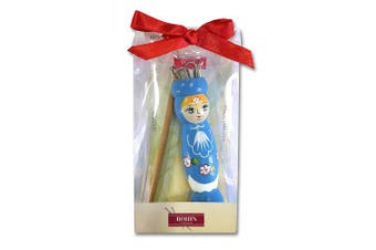 Bohin Knitting Dolly + 1 Needle, Blue