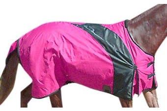 (210cm , Raspberry) - Intrepid International Prima Medium Weight Turnout Blanket