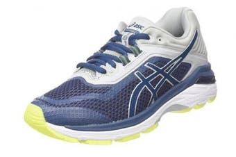 (7 UK, Blue (Dark Blue/Dark Blue/Mid Grey 4949)) - Asics Men's Gt-2000 6 Running Shoes, Black