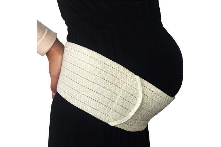 (M, Black) - Neotech Care 3-in-1 Maternity Pregnancy Support, Postpartum Belly Wrap & Pelvis Belt/Brace / Band - Breathable Girdle - Black - Medium Size
