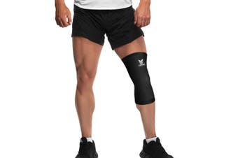 (X-Large) - Copper Compression Gear PREMIUM Fit Recovery Knee Sleeve - . - #1 Copper Knee Brace / Support Sleeve / Wrap / Stabiliser For Men And Women (Size XL)