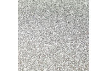 (Silver) - Misscrafts 10pcs A4 Sheets Glitter Cardstock Card Making Diy Material Sparkling Craftwork Scrapbooking Colour Silver