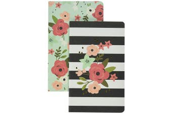 Simple Stories Carpe Diem Bloom Traveller's Notebook Inserts, Paper, Multi-Colour, 24.7 x 13 x 0.7 cm