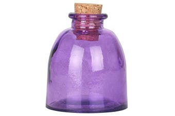(Violet) - Couronne Co Ottoman Glass Bottle, G5765G21, 150ml capacity, Violet