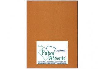 Accent Design Paper Accents Cdstk Pearlized 8.5 x 11 105# Copper