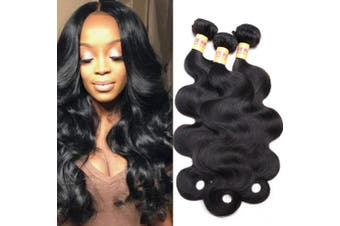 (10 12 14, Virgin Peruvian hair) - Peruvian Body Wave 10A Virgin Hair 3 Bundles Virgin Human Hair 10 12 36cm Weave Hair Human Bundles Natural Black Colour