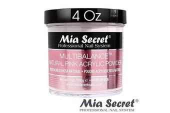 Mia Secret Acrylic Powder Multi Balance Natural Pink - 120ml