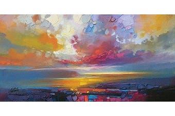 The Art Group Scott Naismith Uig Clouds Canvas Print, Cotton, Multi-Colour, 1.8 x 50 x 100 cm
