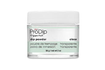 (Clear) - Supernail Prodip French Acrylic Dip Powder Clear, 60ml