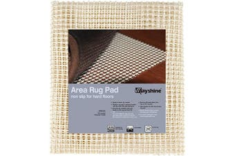 (0.6m x 0.9m) - MAYSHINE Area Rug Gripper Pad (0.6m x 0.9m), for Hard Floors, Provides Protection and Cushion for Area Rugs and Floors
