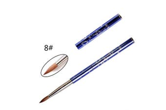ANGNYA kolinsky Acrylic Nail Brush Powder Manicure Pedicure For Nail Art #8