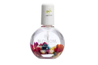 (Honeysuckle) - Blossom Scented Cuticle Oil (25ml / large) infused with real flowers - made in USA (Honeysuckle)