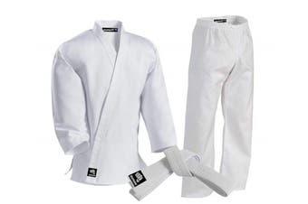 (000, White) - Zephyr Martial Arts Karate Gi Student Uniform - White Belt