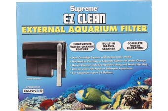 (Standard) - Supreme EZ Clean External Aquarium Filter