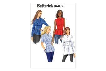 Butterick Patterns B6097 Misses' Shirt, Size A5