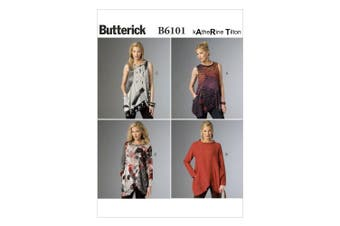 Butterick Patterns B6101 Misses' Tunic, Size Y