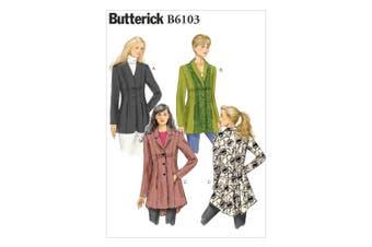 Butterick Patterns B6103 Misses' Jacket, Size E5