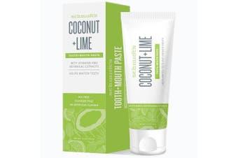 Schmidt's Coconut & Lime Toothpaste, 140ml