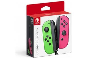 (Neon Green/Neon Pink) - Nintendo Switch Controller Set Neon Green/ Neon Pink