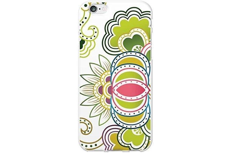 Otm Floral Prints White Phone Case, Pais