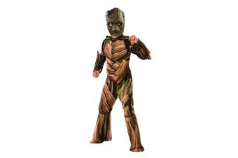 (small) - Rubie's 641058S Avengers Infinity Wars Teen Groot Deluxe Child Costume, Boys, Small, 3-4 Years, 117 cm