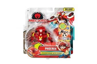 (Phoenix) - Mecard Phoenix Deluxe Mecardimal Figure, Red