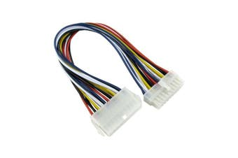 Bluecharge Direct ATX 20 Pin Female to 20 Pin Male Internal PC PSU Power Extension Cable