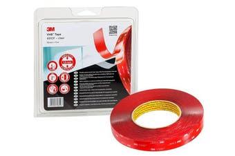(11 m, Transparent Materials) - 3M VHB 4910F1911 Adhesive Tape (Film Liner), 11 m, Clear
